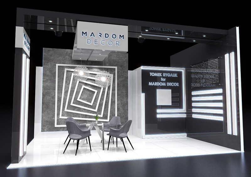 exhibition stand in Munich