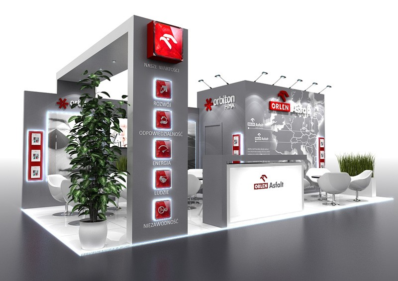 trade fair stands in Warsaw