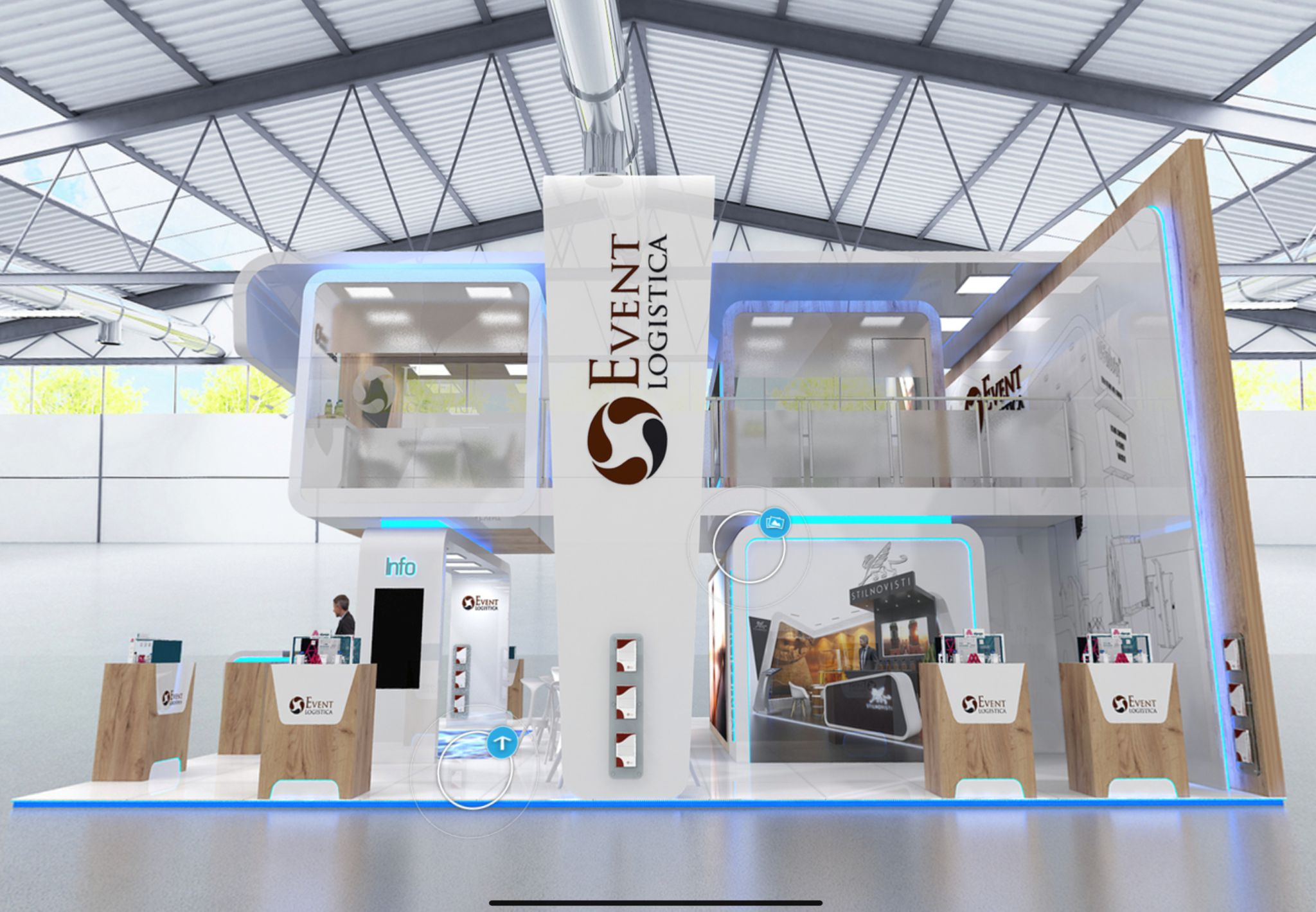 virtual exhibition stands