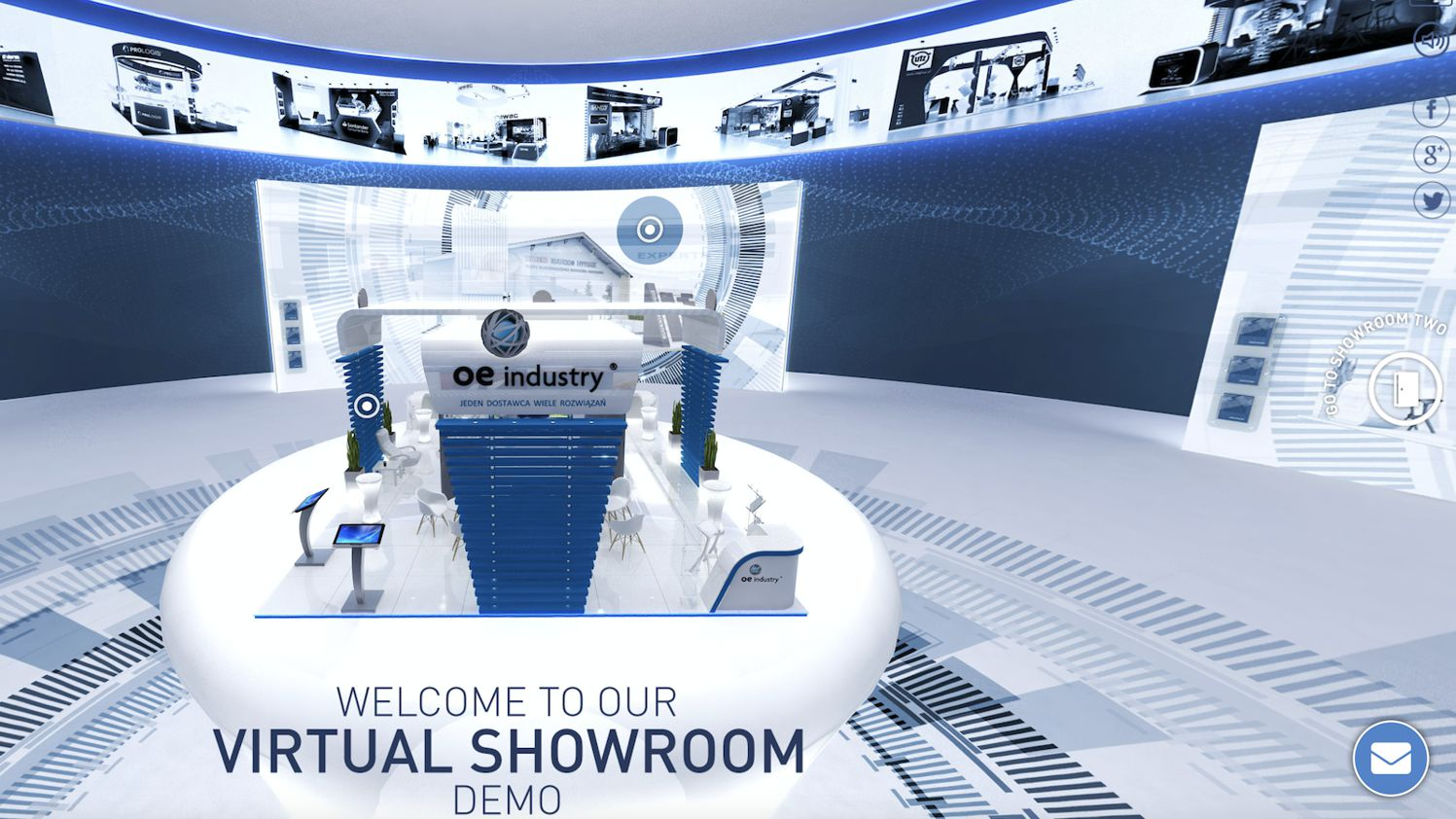 Virtueller Showroom 360