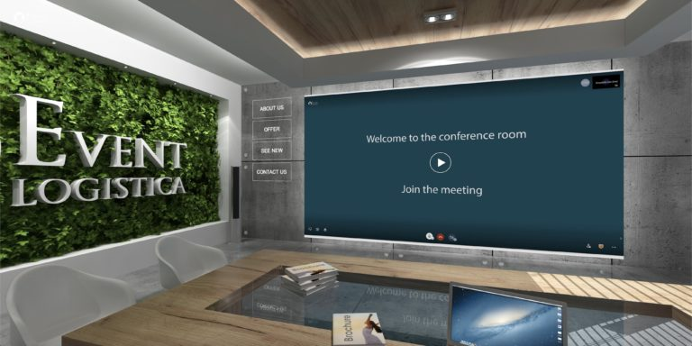 Salle de conférence en ligne