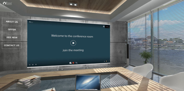 Virtuelt konferanserom
